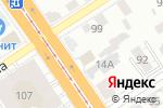 Схема проезда до компании Burton в Барнауле