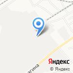 НОВТЕХ на карте Барнаула