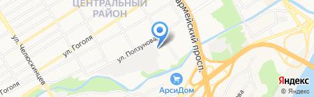 ОТК-Барнаул на карте Барнаула