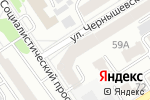 Схема проезда до компании ЭСТЕТИКА в Барнауле