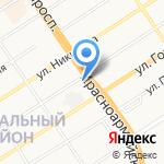 Plaza на карте Барнаула
