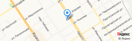 Мигусофт на карте Барнаула