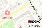 Схема проезда до компании Управление по контролю за оборотом наркотиков МВД России по Алтайскому краю в Барнауле