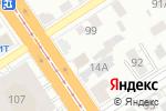 Схема проезда до компании Прасковья в Барнауле