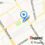 Евростиль на карте Барнаула