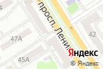 Схема проезда до компании Платежный терминал, БИНБАНК, ПАО в Барнауле