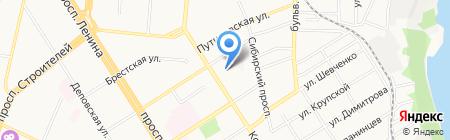 Быт-Сервис на карте Барнаула