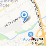 Matrix на карте Барнаула