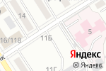 Схема проезда до компании Аква-Сервис в Барнауле