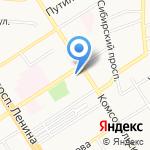 Региональное управление по контролю за оборотом наркотиков МВД России по Алтайскому краю на карте Барнаула