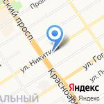Визит-Тур на карте Барнаула