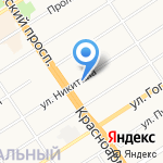 АлтайСтройХолдинг на карте Барнаула
