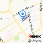 Мастерская кузовного ремонта на карте Барнаула