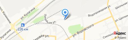 Триумф плюс на карте Барнаула