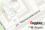 Схема проезда до компании Визион-ОПТИКА в Барнауле