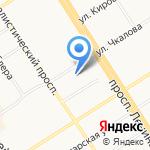 Эспри на карте Барнаула
