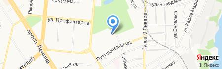 Mobil 1 Центр на карте Барнаула