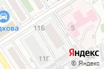 Схема проезда до компании Специальные системы безопасности в Барнауле
