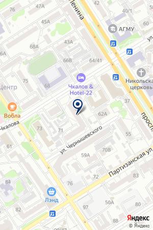 ОПТИКА ВИЗИОН на карте Барнаула