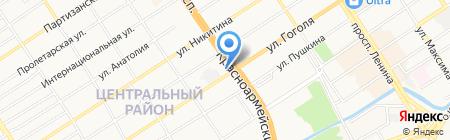 РЕШЕНИЕ на карте Барнаула