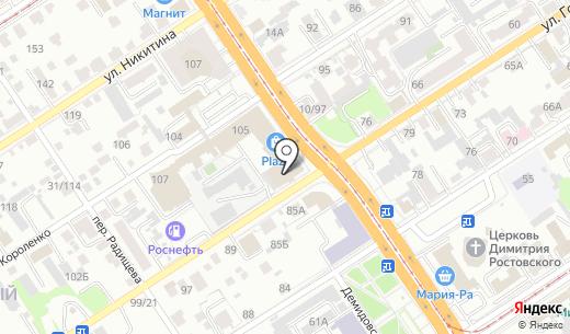 Оценка и консалтинг. Схема проезда в Барнауле