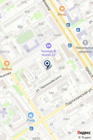 Визион-ОПТИКА на карте Барнаула