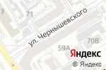 Схема проезда до компании Эдельвейс-baby в Барнауле