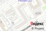 Схема проезда до компании Ломбард на Чкалова в Барнауле