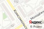 Схема проезда до компании Мобильный сервис в Барнауле
