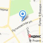 Ростехинвентаризация-Федеральное БТИ на карте Барнаула