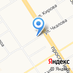 HOTEL-22 на карте Барнаула