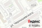 Схема проезда до компании Консалтинг-Сервис в Барнауле