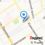 Медико-генетическая консультация на карте Барнаула