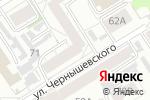 Схема проезда до компании Лайф в Барнауле