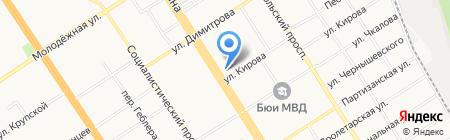 Банк Российский Кредит на карте Барнаула