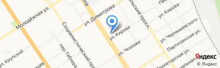 Банкомат Банк Российский Кредит на карте Барнаула