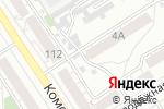Схема проезда до компании Рельеф в Барнауле