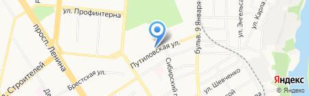 Управление МВД России по г. Барнаулу на карте Барнаула