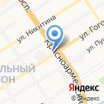 Алтайизыскания на карте Барнаула