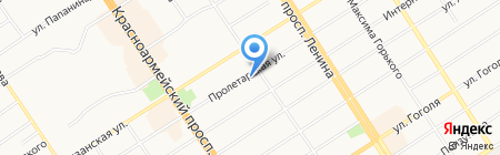 ДвериСити на карте Барнаула