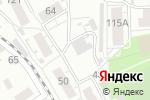 Схема проезда до компании Виола в Барнауле