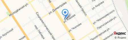 Общественная приемная депутата Государственной Думы РФ Семенова В.В. на карте Барнаула