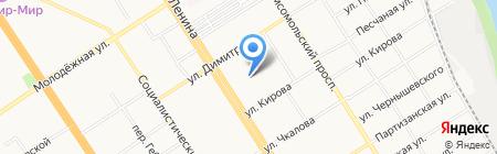 Сила социологическая лаборатория на карте Барнаула