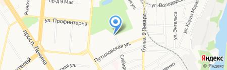 Brotherstar на карте Барнаула