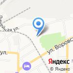 Торгово-производственная компания на карте Барнаула