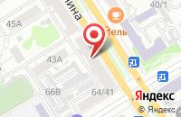 Схема проезда до компании Территория Здоровья в Барнауле