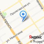 Светодар на карте Барнаула