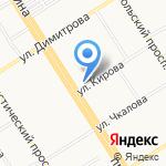 Совет муниципальных образований Алтайского края на карте Барнаула