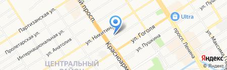 СОФИЯ на карте Барнаула