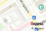 Схема проезда до компании Вьюга в Барнауле